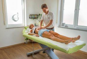 Bild Osteopathie am Patienten