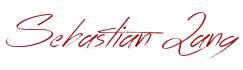Unterschrift Sebastian Lang