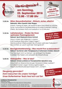 Flyer Buttenheim offen