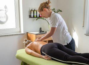 Bild Massage im Therapiezentrum